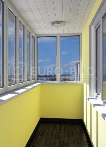 Ремонт балкона під ключ